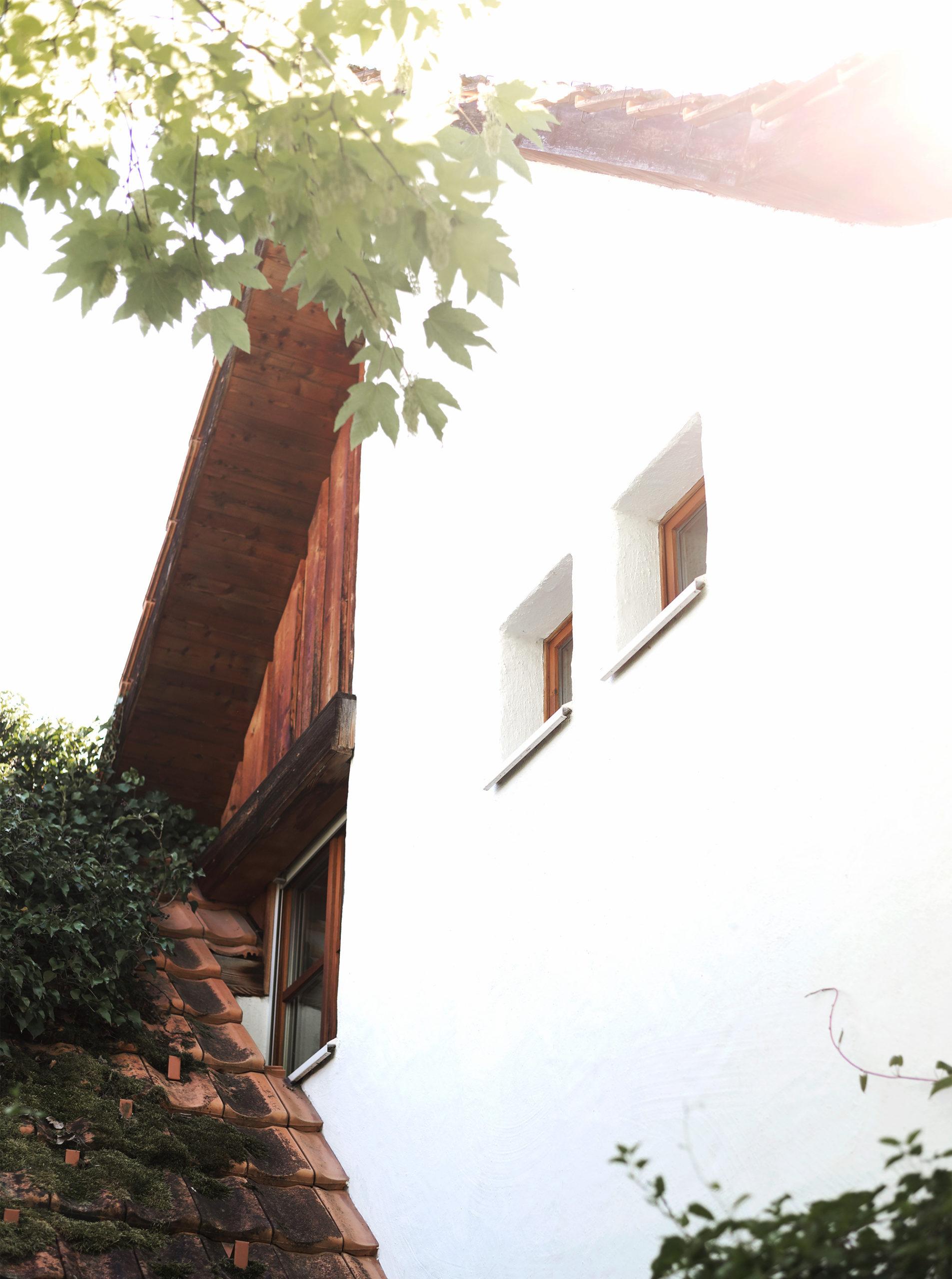 Das Haus an der Taastrasse: Eingangsfassade