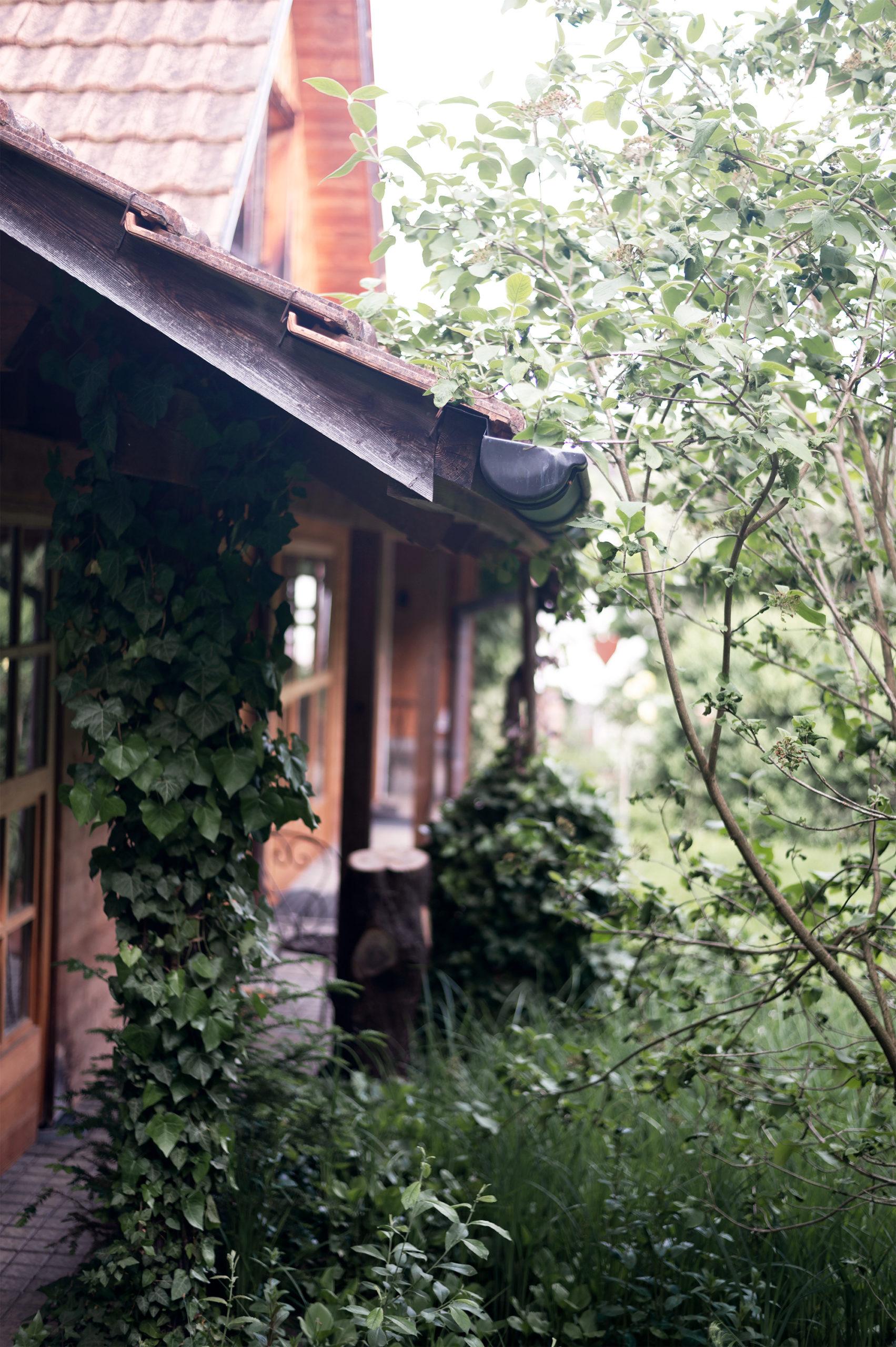 Das Haus an der Taastrasse: Veranda