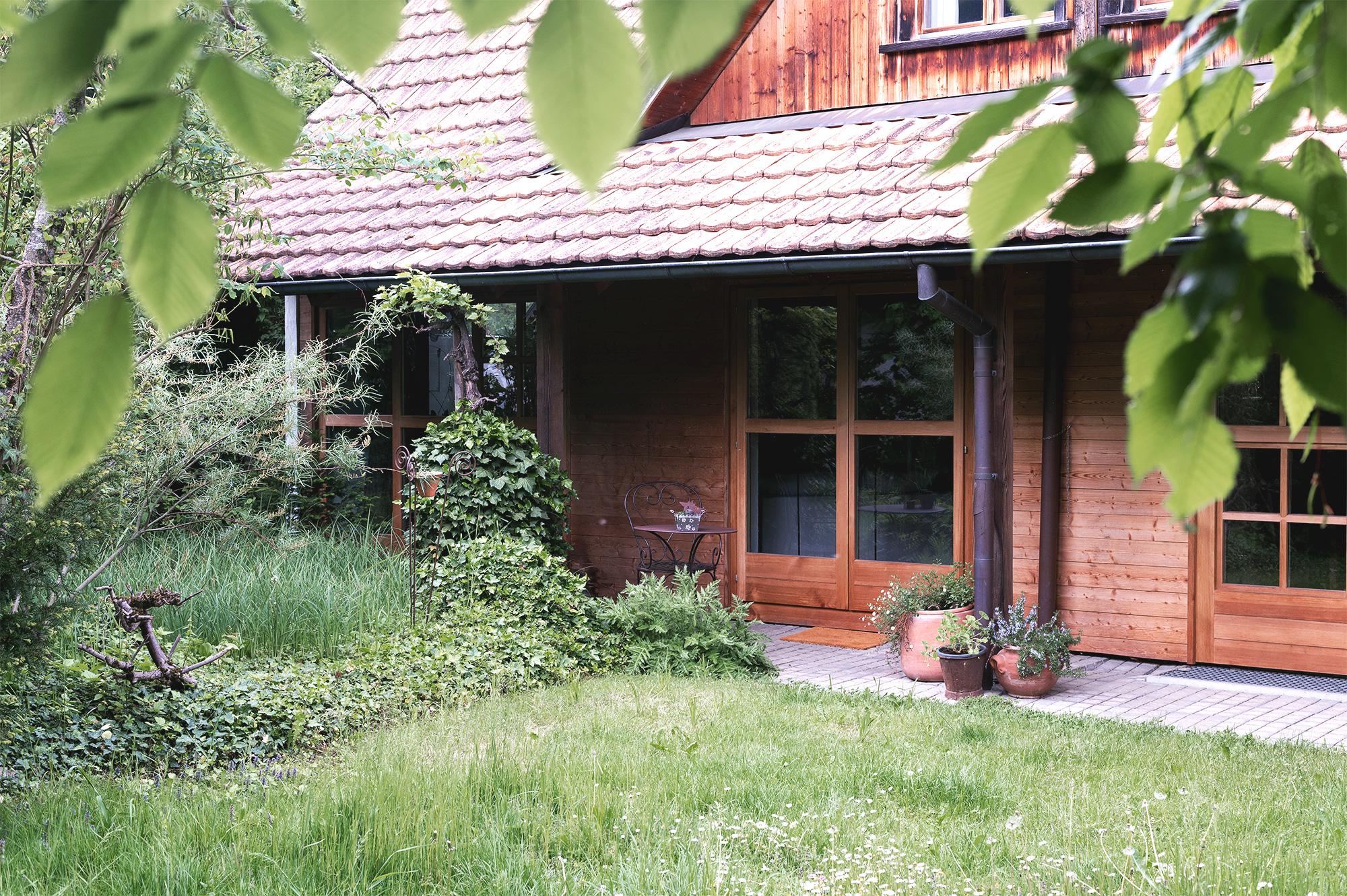 Das Haus an der Taastrasse: Garten